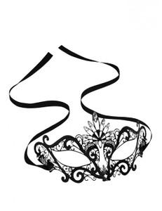 Steamy Shades - STEAMY SHADES - Augenmaske aus Metall mit Strass – Bild $_i