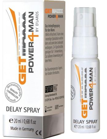 Getmaxxx - GETMAXXX Verzögerungs-Spray 20ml