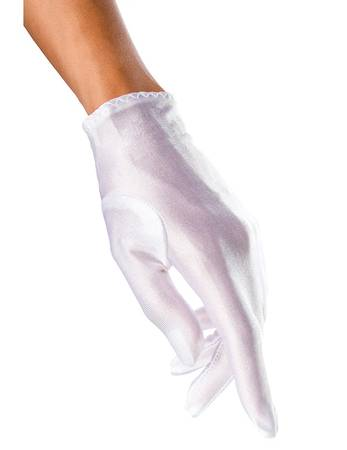 Beauty's Love - Satin-Handschuhe kurz