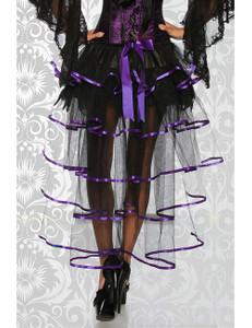 Zugeschnürt Shop - Burlesque-Volant-Rock – Bild $_i
