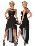 Zugeschnürt Shop - Abendkleid mit Pailletten 001
