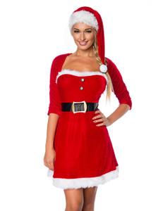 Zugeschnürt Shop - Weihnachtskleid mit Mütze – Bild $_i