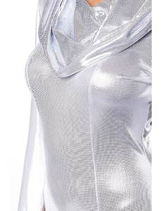 Saresia - Body-Set im Metallic-Look, 3-teilig – Bild $_i
