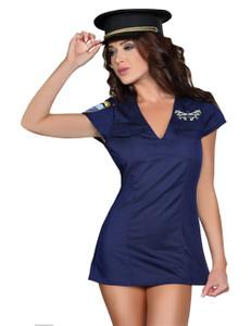 LivCo Corsetti - ARGENTA Marine-Kostum LC 90069 blau – Bild $_i