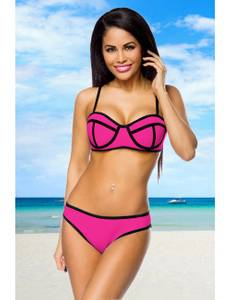 Zugeschnürt Shop - Neopren-Bikini – Bild $_i