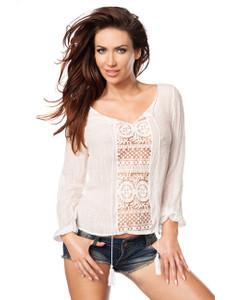 Zugeschnürt Shop - Hippy-Bluse – Bild $_i