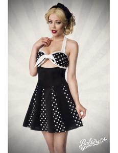 Belsira - Godet-Kleid mit Schleife – Bild $_i