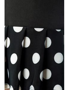Belsira - Jersey-Kleid mit Puffärmeln – Bild $_i