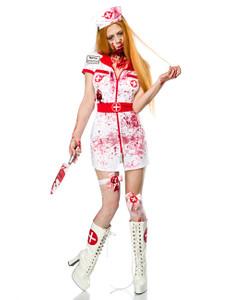 Mask Paradise - Zombiekostüm: Zombie Nurse  – Bild $_i