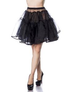Belsira - Petticoat knielang schwarz – Bild $_i