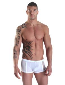 LOOK ME - Herren Mini-Pant Visible Man LM23-68WHT weiß – Bild $_i