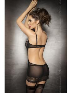 Passion - Straps-Kleid Ceres exclusiv PA913283M schwarz/gold – Bild $_i