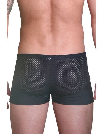 LOOK ME - Herren Boxer the Shadow LM36-67BLK schwarz – Bild 4