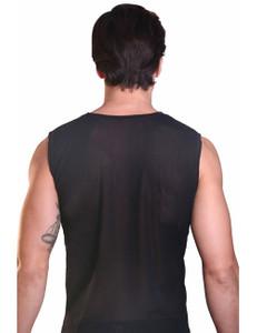 LOOK ME - Muskel-Shirt Audacious LM33-77BLK schwarz – Bild $_i