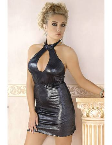 Andalea - Kleid M/1071 AN530512M schwarz/silber – Bild $_i