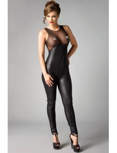 MeSeduce - Wetlook Catsuit Demi MS450305M schwarz – Bild $_i