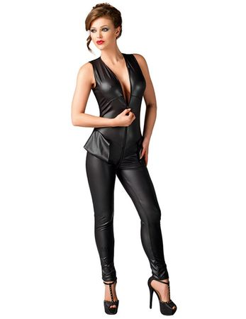 MeSeduce - Wetlook Catsuit Debby MS450308M schwarz – Bild $_i