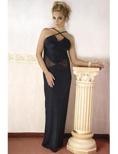 Andalea - langes Kleid M/1068 AN530487M schwarz – Bild $_i