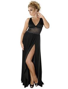 Andalea - langes Kleid M/1074 AN530537M schwarz – Bild $_i