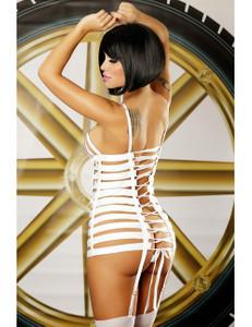 Lolitta Dessous - Strapskleid Mystery LO868530M weiß – Bild $_i
