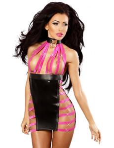 Lolitta Dessous - Minikleid Extravaganza LO868573M schwarz/pink – Bild $_i