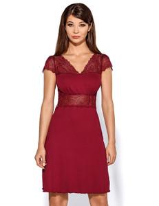 Hamana - Nachtkleid Helen H181244M Burgund – Bild $_i