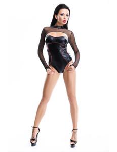 Demoniq - Body Aimi DE872887M schwarz/rot – Bild $_i