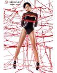 Demoniq - Body Aimi + 2 Seile DE872862M schwarz/rot 001