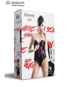 Demoniq - Body Fumi DE739096M schwarz/rot – Bild $_i