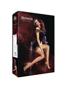 Demoniq - Minikleid Marissa DE739141M schwarz – Bild $_i