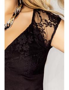Kalimo - Nachtkleid Persia KA920186M schwarz – Bild $_i