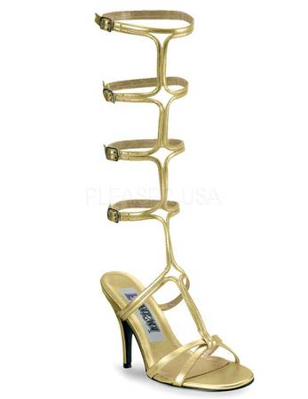 "FUNTASMA - High Heels ""ROMAN-10"" gold"