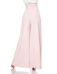Belsira - Marlenehose mit herzförmigem Bundabschluss rosa – Bild $_i