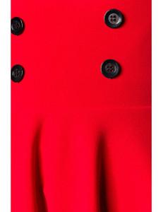 Belsira - High-Waist Minitellerrock rot – Bild $_i
