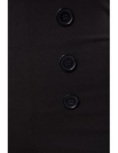 Belsira - figurbetonte Retro-Caprihose schwarz – Bild $_i