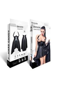 Demoniq - Kleid Christine schwarz – Bild $_i