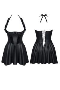 Demoniq - Minikleid Jasmin schwarz – Bild $_i