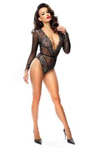 Demoniq - Body Axelle DE739313M schwarz/golden – Bild $_i