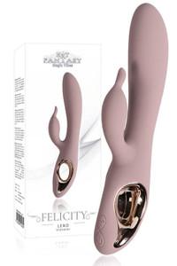 HOT FANTASY Felicity Leno Vibrator rosé – Bild $_i