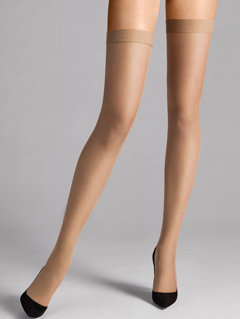 Wolford Stay-up Individual 10 , halterlose Strümpfe