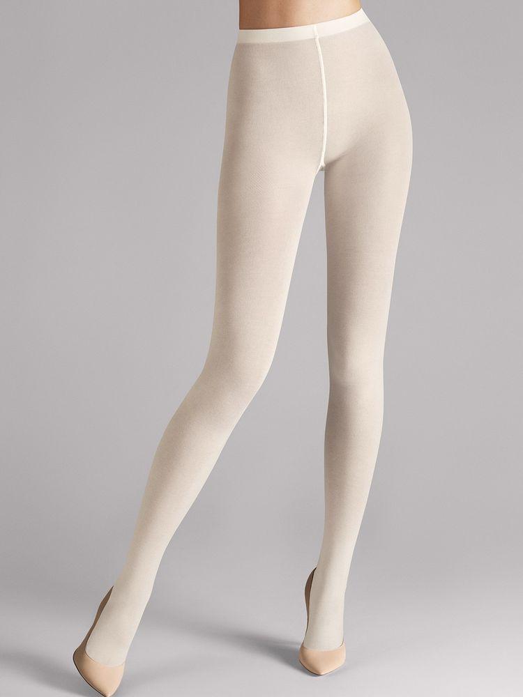 Wolford Strumpfhose Cotton Velvet Tights, Baumwollstrumpfhose – Bild 7