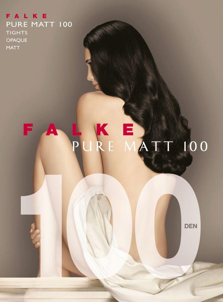 FALKE Pure Matt 100 den Damen Strumpfhose, blickdicht und matt – Bild 4