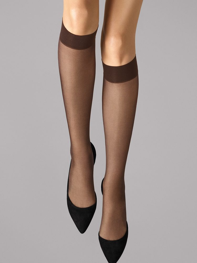 Wolford Kniestrümpfe Satin Touch 20, Knee-highs – Bild 9
