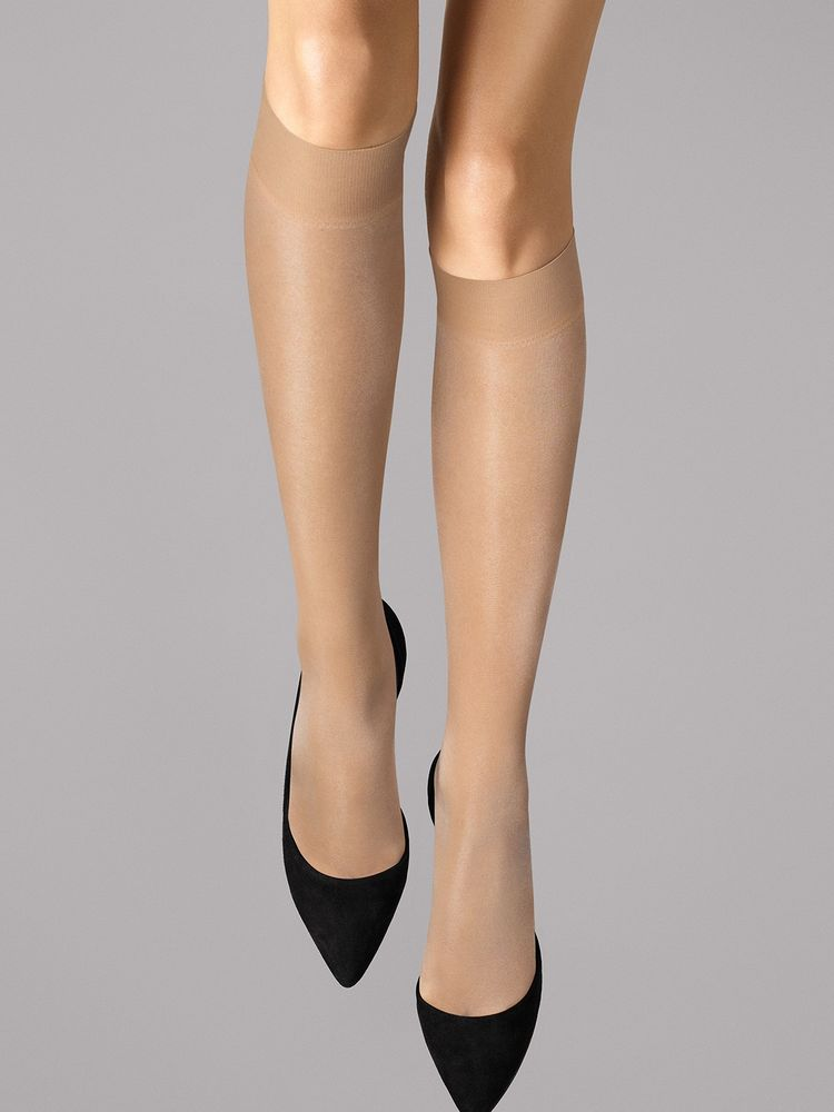 Wolford Kniestrümpfe Satin Touch 20, Knee-highs – Bild 4