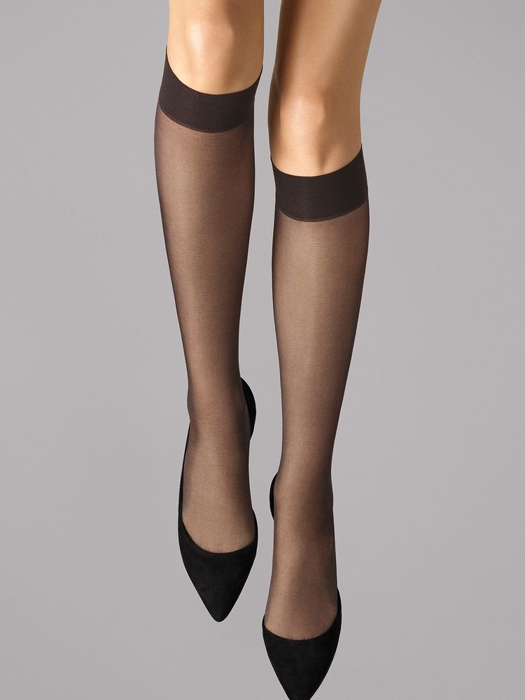 Wolford Kniestrümpfe Satin Touch 20, Knee-highs – Bild 11