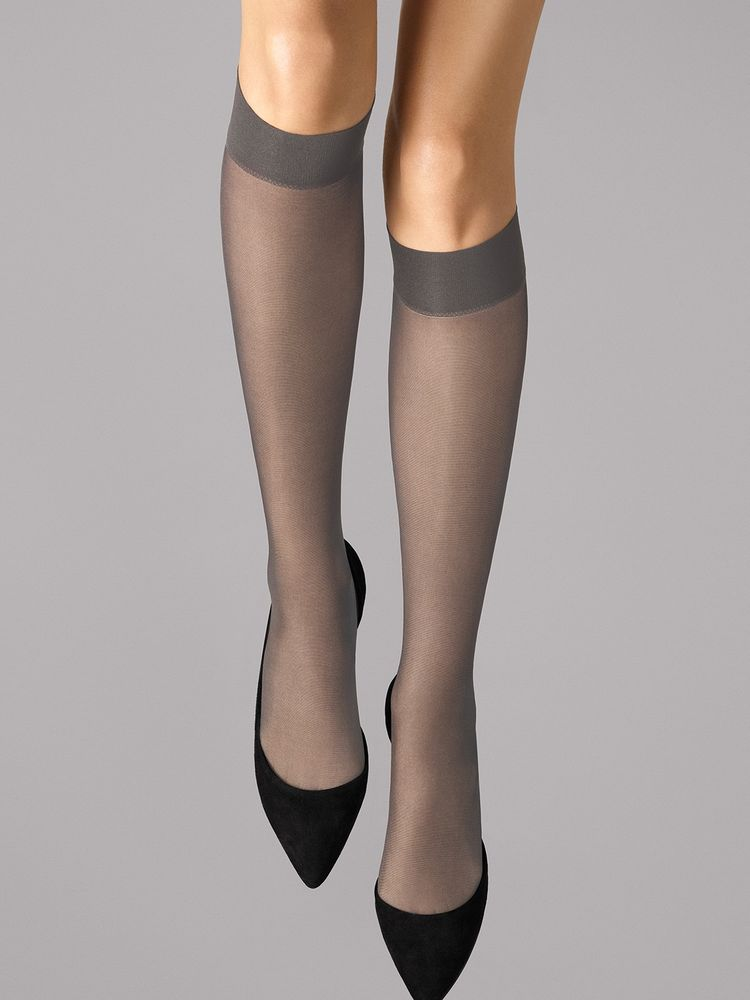 Wolford Kniestrümpfe Satin Touch 20, Knee-highs – Bild 12