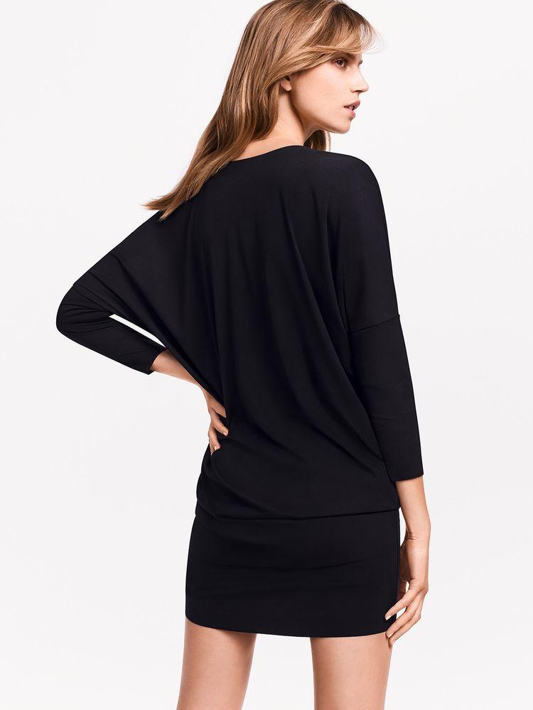 Wolford Pure Cut Dress, Kleid + Long-Shirt, variabel tragbar – Bild 2