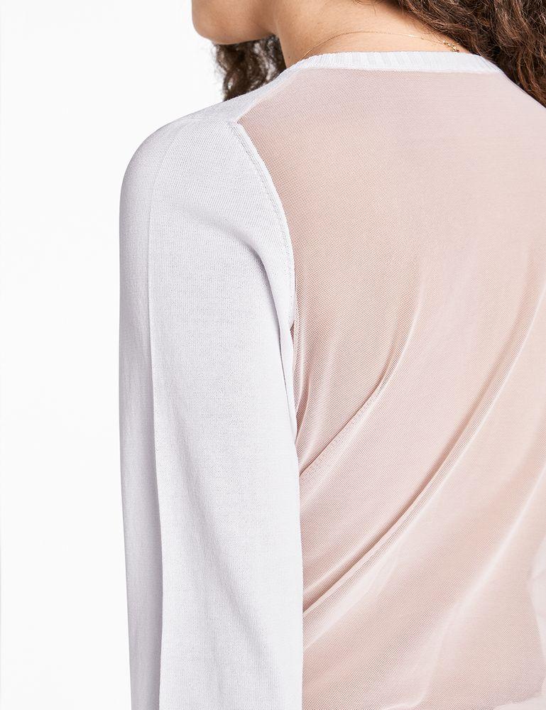 Wolford Mellow Sea Pullover Pullover mit transparentem Rücken – Bild 3