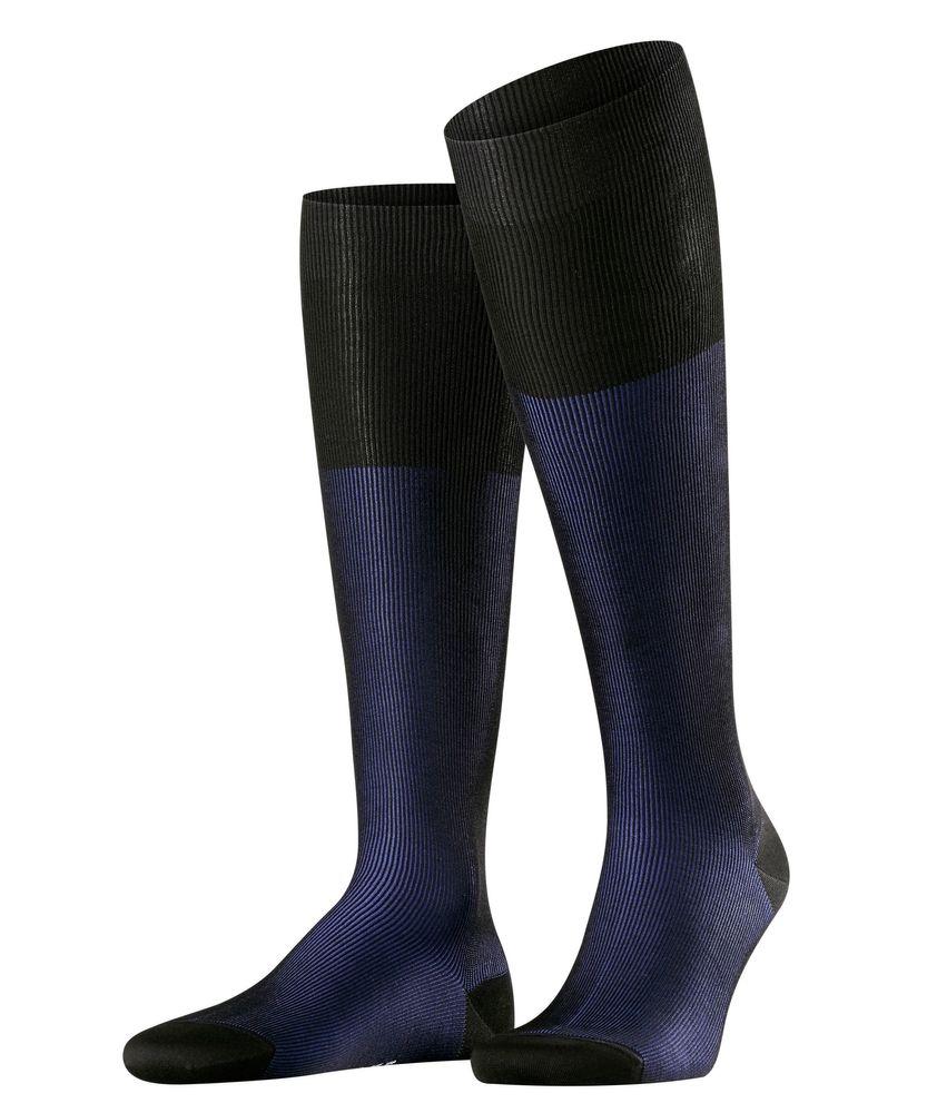 FALKE Fine Shadow Herren Kniestrümpfe fein gerippte zweifarbige Business Socken #15741 – Bild 3