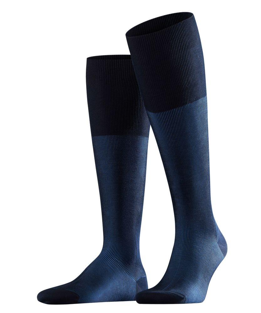 FALKE Fine Shadow Herren Kniestrümpfe fein gerippte zweifarbige Business Socken #15741 – Bild 2